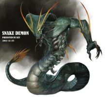 Snake Demon(reproduction) by Sugisaki-Key