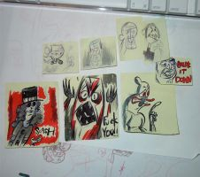 mega's post-it note collection by megachron