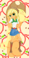 MLP- Applejack by MelciAdR