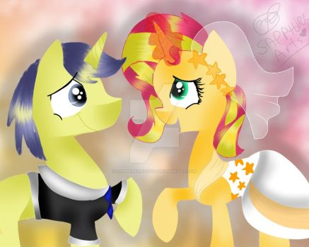 My Little Pony wedding by Sapphirearts0123