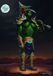 Orc Warrior by TheMagicalPot