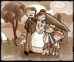 A Van Gogh story:Small Vincent by rickrd