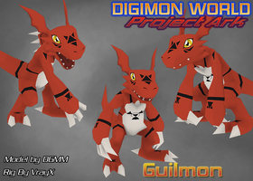 Guilmon's Poster by ProjectArkStudios
