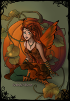 Pumpkin the Fairy by PiccoloFreakNamick