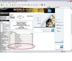 World Cup Tipping by NYC55david