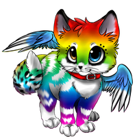 Winged Kitten Custom by Okami-Heart