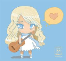 Chibi Taylor Swift by jennytan