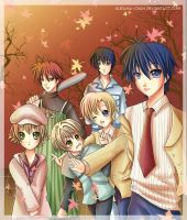 -- The Clannad boys -- by Kurama-chan