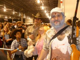 Walking Dead Cosplay Group 1- Motor City Comic Con by Linksliltri4ce