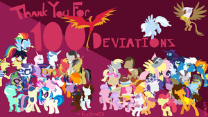 Thank You For 100 Deviations! by kellyn28