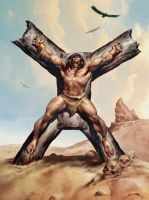 CONAN CRUCIFIXION-Day by benitogallego