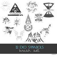 EXO SYMBOL'S BRUSH by ExoticGeneration21