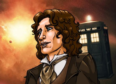 8th Doctor Who by MarionPoinsot34