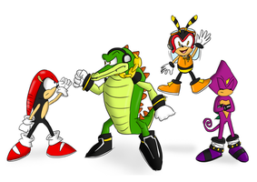 Team Chaotix by TheXiled