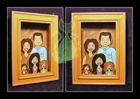 Family Frame by MyntKat