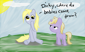 Where do babies come from? by dennyhooves