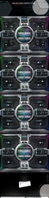8dio Rhythmic Revolution GUI Design by ScottKaneGUIs