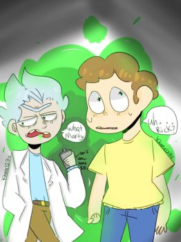 Rick and Morty by khane1234
