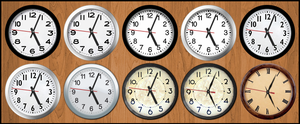 Deluxe Analog Clock by Guntmeister