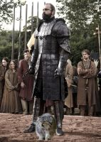 Gregor Clegane and His Daemon by LJ-Todd
