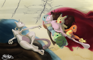 Creation of Mon by Nasdreks