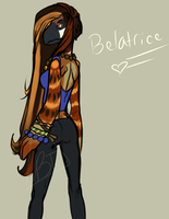 Belatrice Sparrowin by ClubsOfMeloncholy