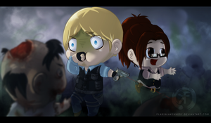Zombie Smell - Attack on Evil by FlaminiaKennedy