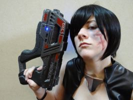 Commander Shepard - Renegade time by MercerHitsuji