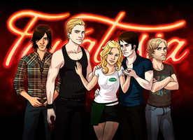 Fanart True Blood by Marc-G