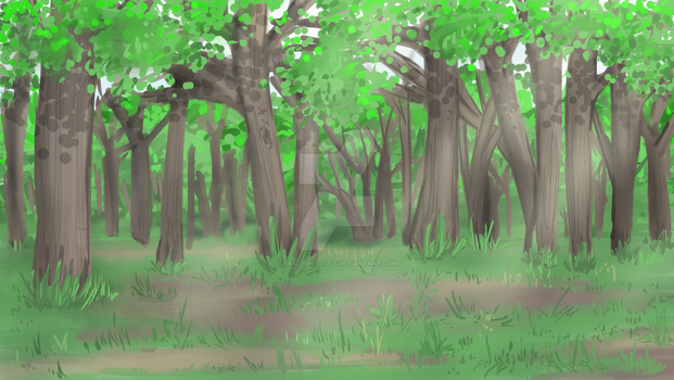 Free forest  background by Trillion-souls
