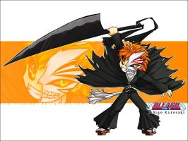 Bleach - Hollow Ichigo Chibi by Sayael