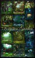 Forgoten Garden  Backgrounds by moonchild-ljilja