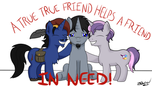 A Friend in Need by NiegelvonWolf