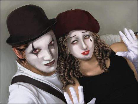 The Mimes by Mochito