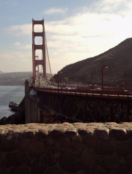 Golden Gate by muddywater91