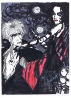 jareth and his mother lilith by Dollysmith