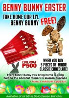 Benny Bunny Easter Promo by arnhival