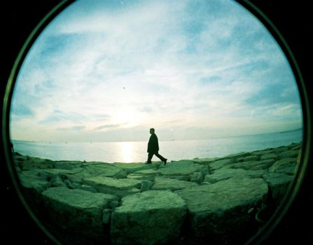 lomo lonely man by belizyy