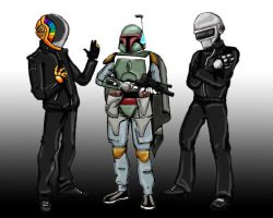 Daft Punk Recruits 1 by Okhams-Razor