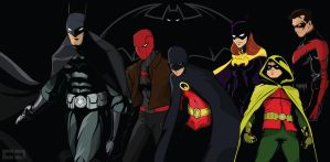 Bat-Family by crost92