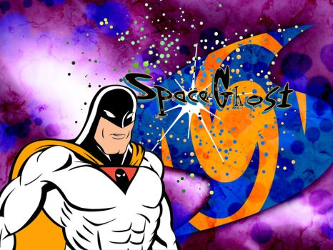 Space Ghost wallpaper by yomark