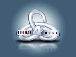 Thomas 4 Host - logo by Atef-Emran