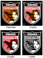 Domnx Unstoppable logo by DomNX