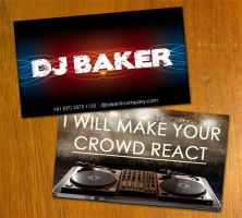 DJ Business Card by danbradster