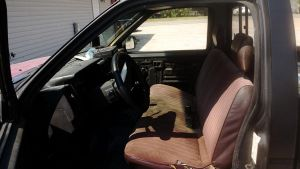 Nissan D21 bench seat by AmorouxSkiLodge