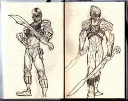 White Ranger Redesigned by Fpeniche