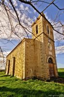 Countryside church by MarioGuti