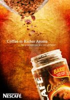 Series of Ad 01: Nescafe by KeyEternal