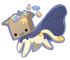 Caped Boxcat 10/17 by PhantomPhoenix4