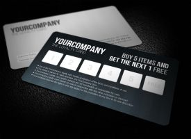 Sleek Professional Loyalty Card by glenngoh